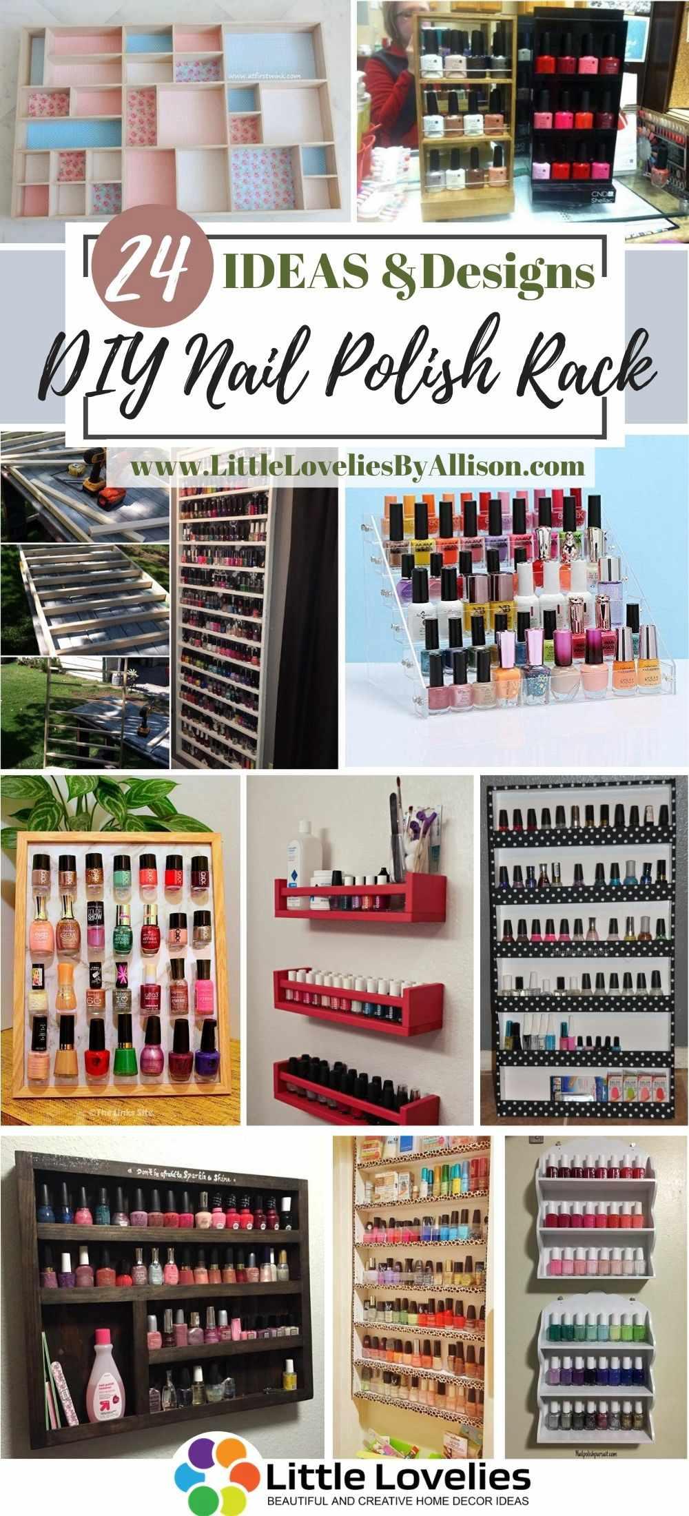 Best-DIY-Nail-Polish-Rack