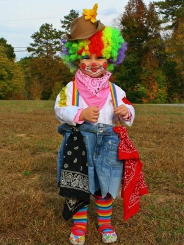 DIY Clown Costume