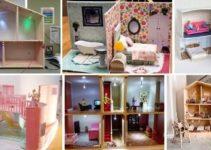 22 DIY DollHouse – How To Build A Doll House