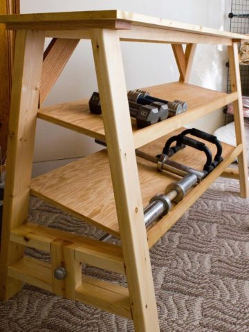DIY Dumbbell Rack Projects