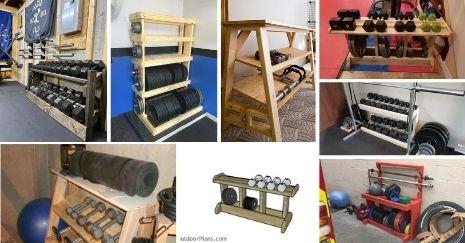DIY-Dumbbell-Rack
