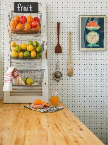 DIY Fruit Basket