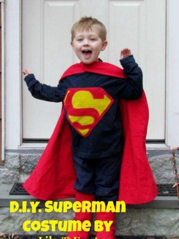 DIY Superman Costumes