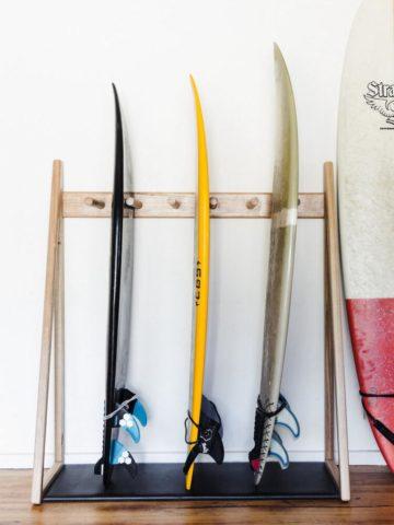 DIY Surfboard Racks