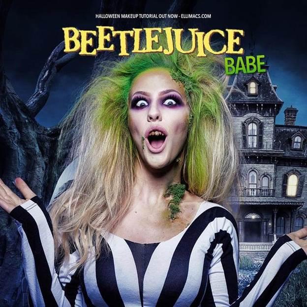 1-DIY-Beetlejuice-Babe-Makeup