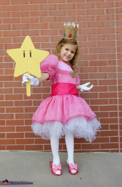 1-DIY-Princess-Peach-Costume-Girls