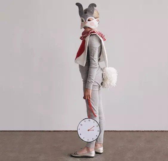 1. DIY No Sew Bunny Costume