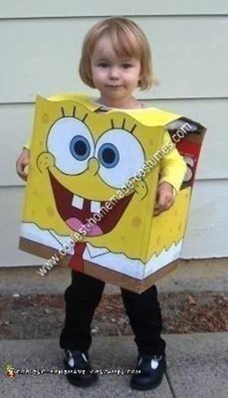 1. DIY Spongebob Costume
