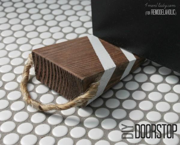 1. Easy DIY Door Stopper