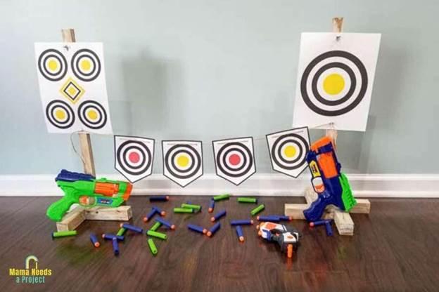 10-DIY-Nerf-Gun-Target-Stand