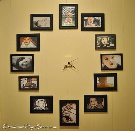 10-How-To-Create-A-Photo-Wall-Clock