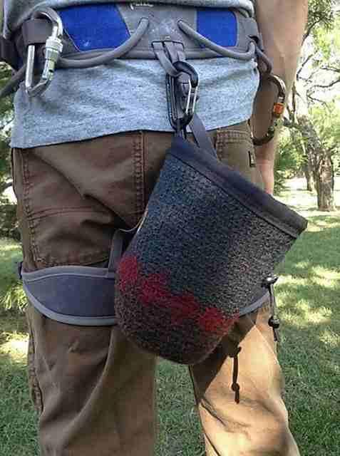 10. Customized Chalk Bag Pattern Download Plan