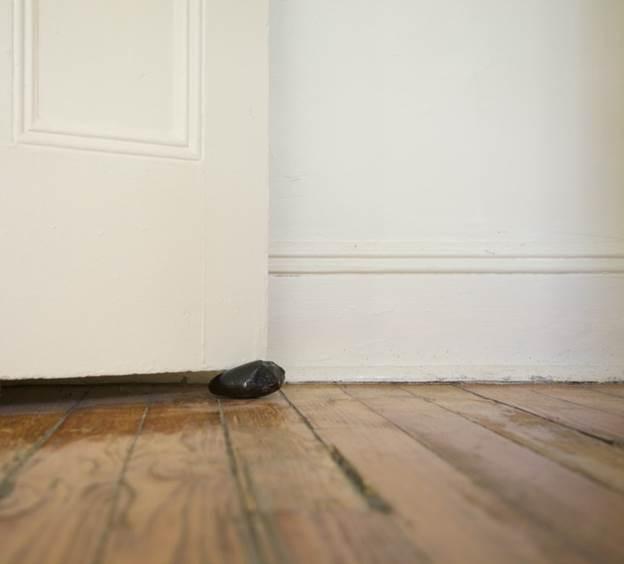 10. DIY No Cost Door Stopper