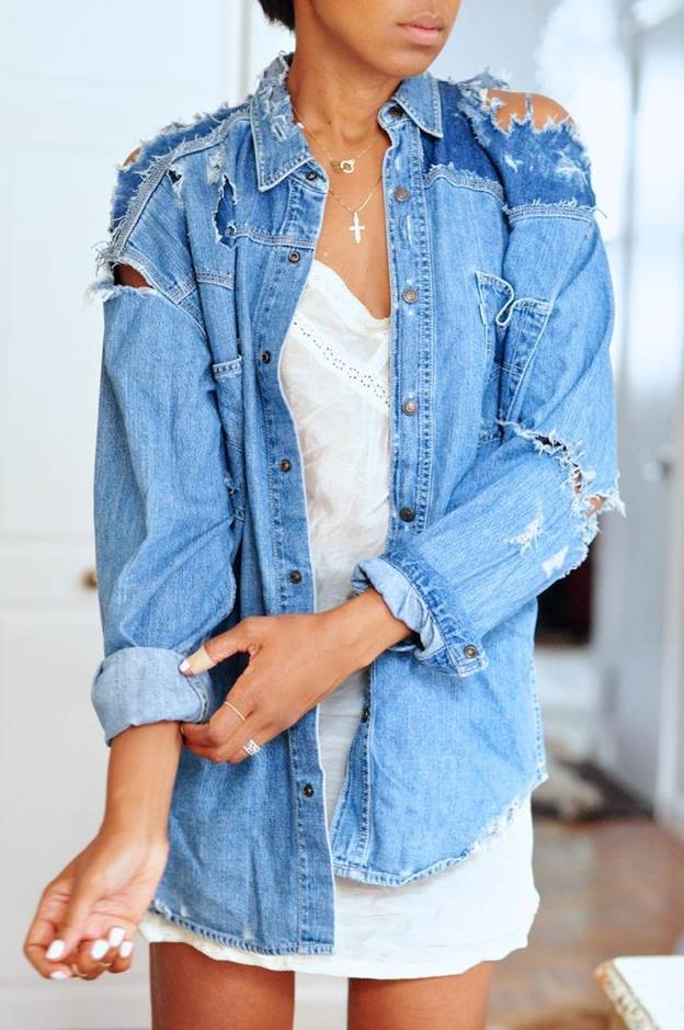 10. How To Destroy Your Denim Shirt