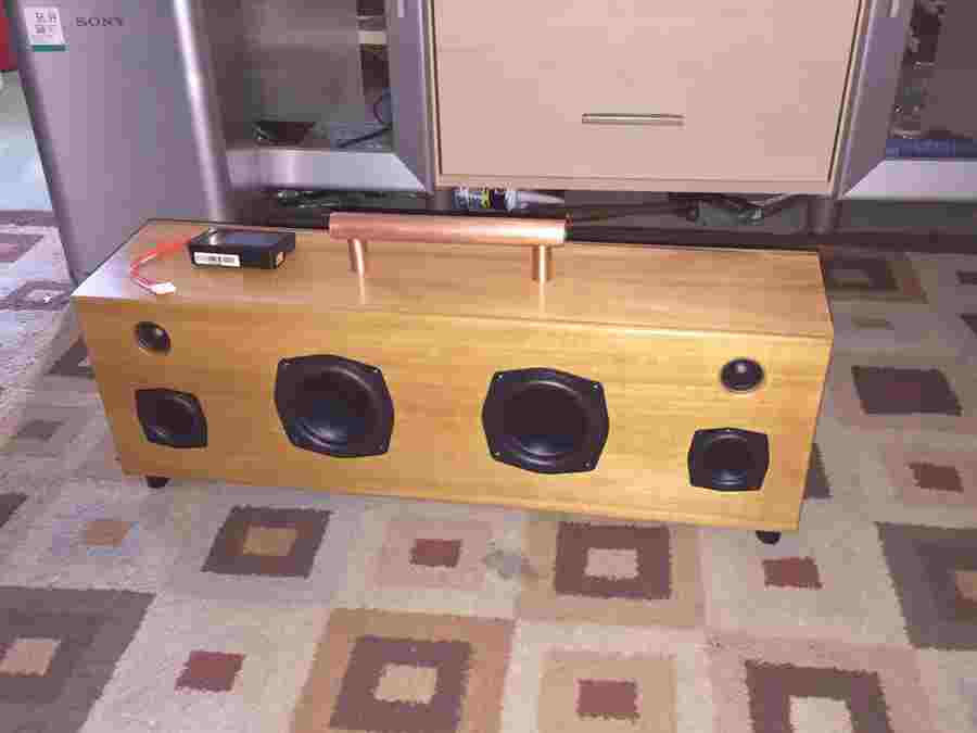 11. Portable Bluetooth Boombox