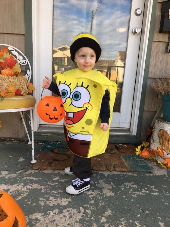 12. Spongebob Costume Idea