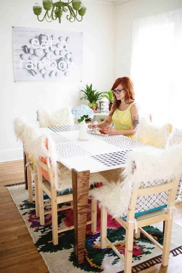13-DIY-Faux-Fur-Chair-Covers