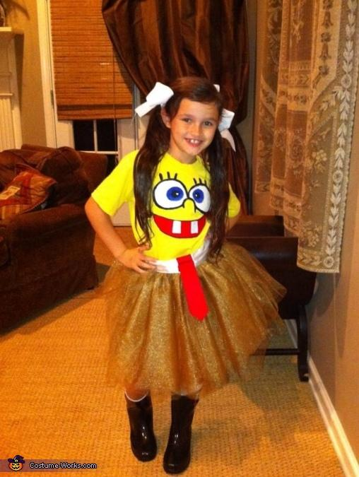 14. Spongebob Sassy Pants Costume