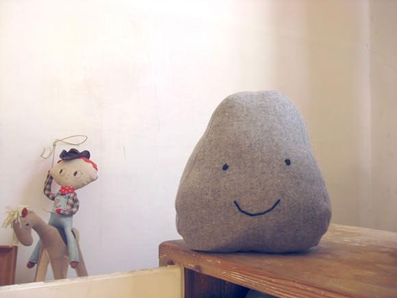 15. DIY Faux Rock Door Stopper