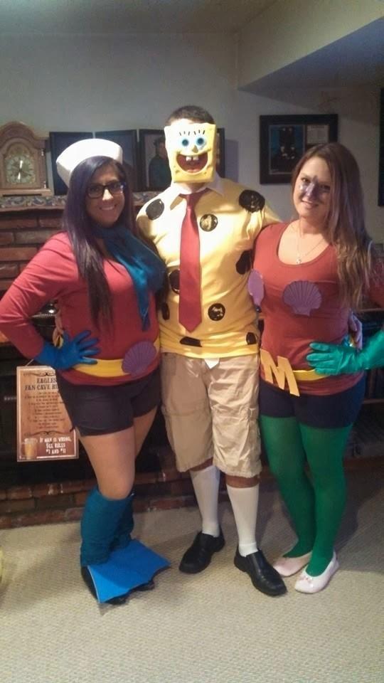 15. DIY Spongebob Costumes