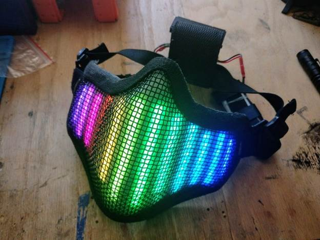 16-DIY-Neopixel-LED-Face-Mask