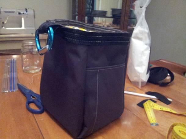 16. DIY Bouldering Chalk Bag