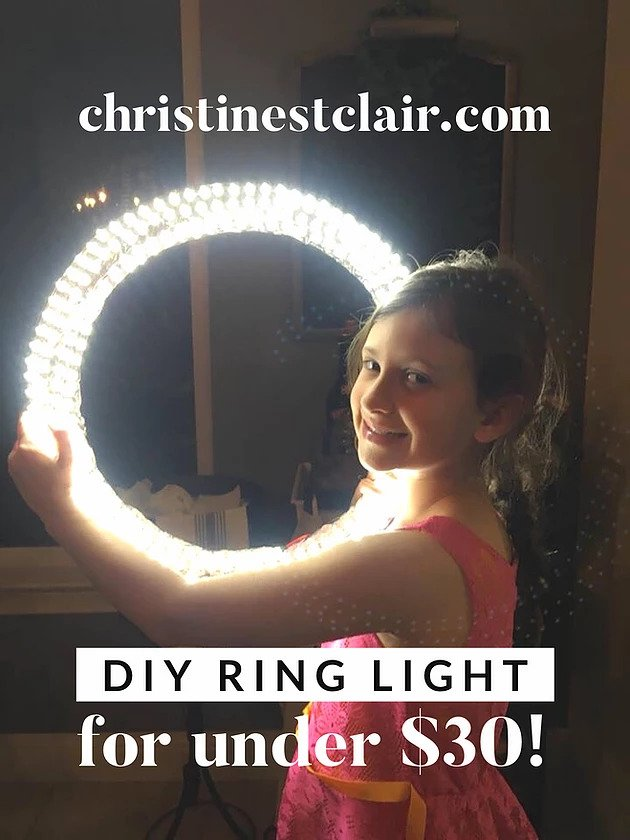 16. DIY Ring Light Under $30