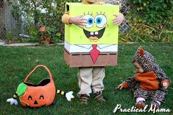 16. Spongebob Squarepants Costumes For Kids