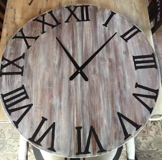 17-DIY-Large-Wooden-Clock