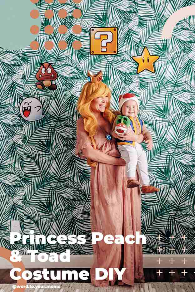 17-Princess-Peach-And-Toad-Costume-With-Baby