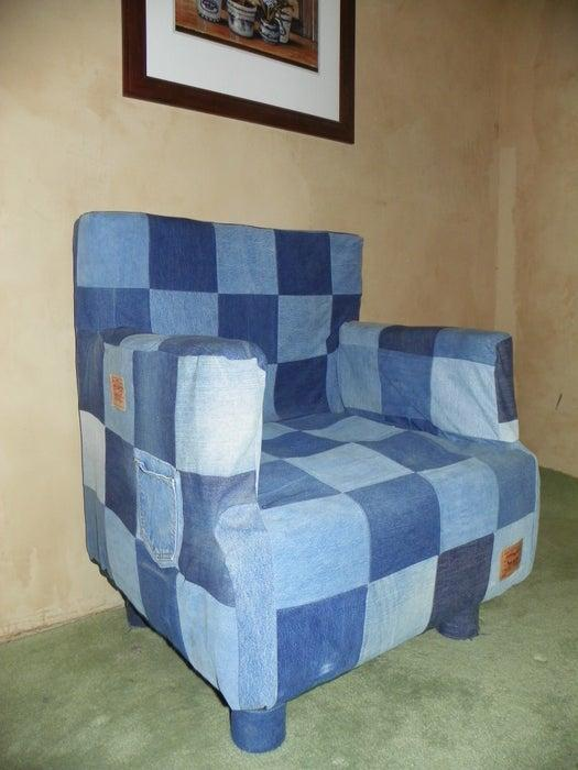 18-DIY-Denim-Chair-Covers