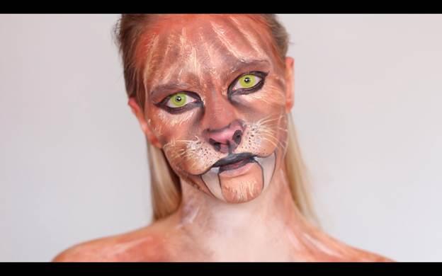 18-DIY-Tiger-Makeup-Tutorial