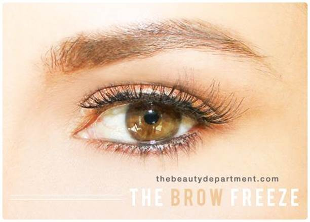 18. DIY Instant Brow Gel