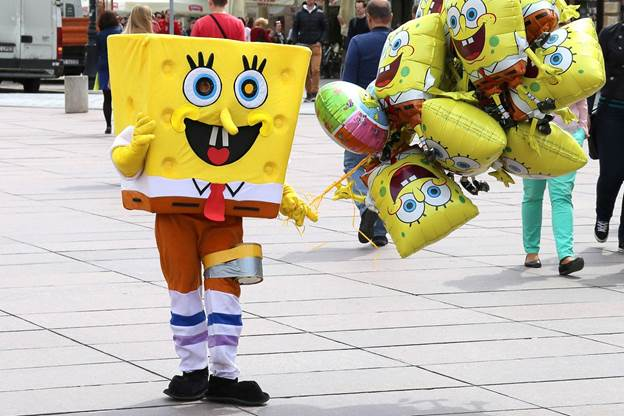 18. Homemade Spongebob Costume