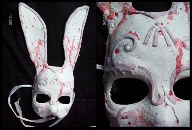 18.Bioshock Splicer Bunny Mask