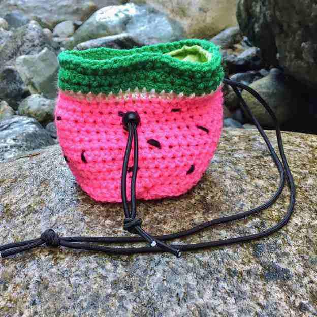 19. Watermelon Chalk Bag Pattern