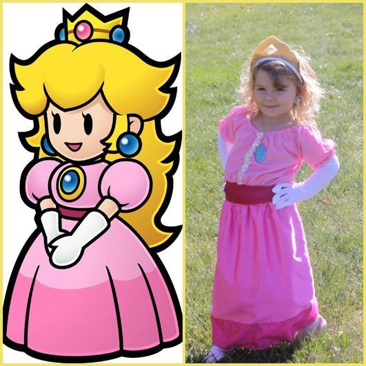2-Do-It-Yourself-Princess-Peach-Costume