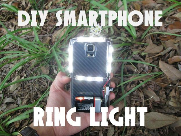 21. DIY Smartphone Ring Light