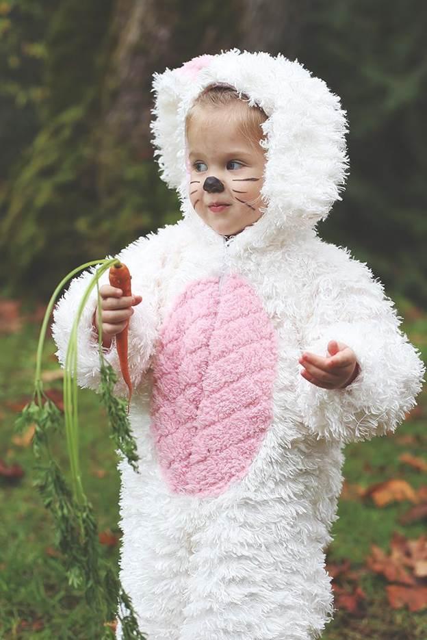 24. DIY Bunny Costume