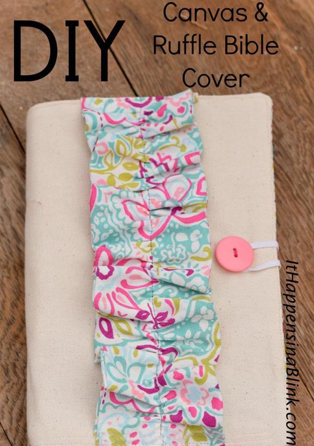 25-DIY-Canvas-And-Ruffled-Bible-Cover