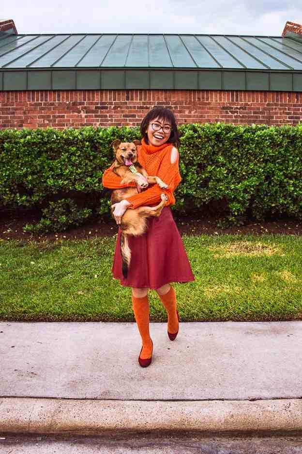 3. DIY Scooby Doo Dog And Owner Costume