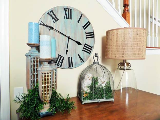 4-DIY-Rustic-Wall-Clock