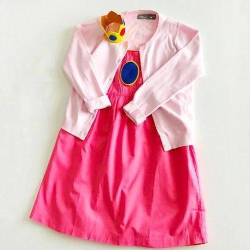 4-No-Sew-Princess-Peach-Costume