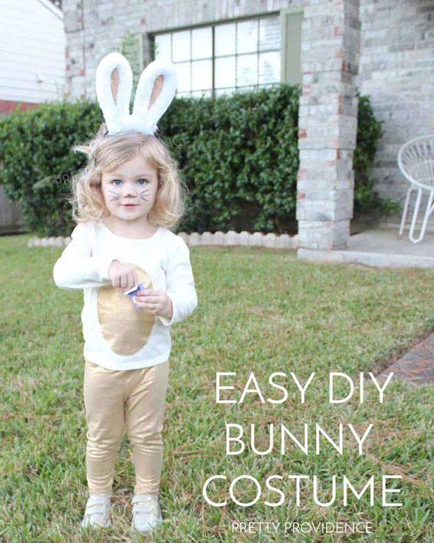 4. Easy Bunny Costume For Kids