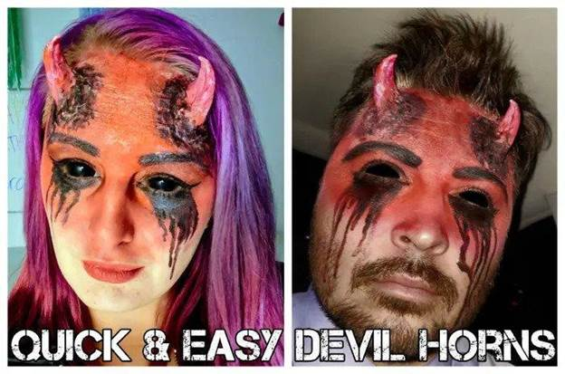 5-DIY-Quick-And-Easy-Devil-Horns