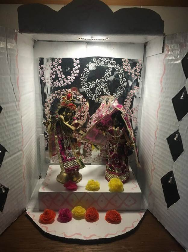 5. DIY Pooja Mandir