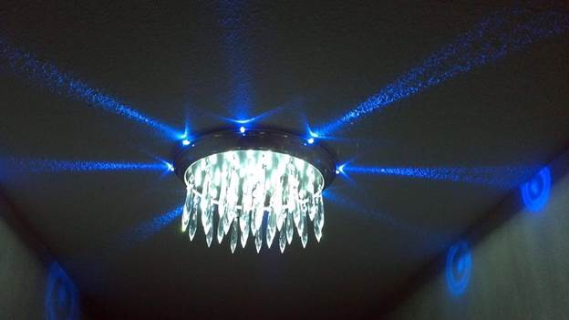 5. LED Chandelier Light