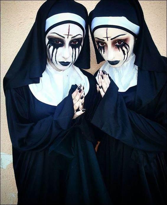 5. Possessed Nun Costume Idea