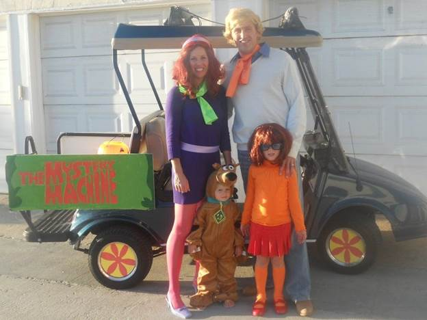 6. DIY Scooby Doo Costume