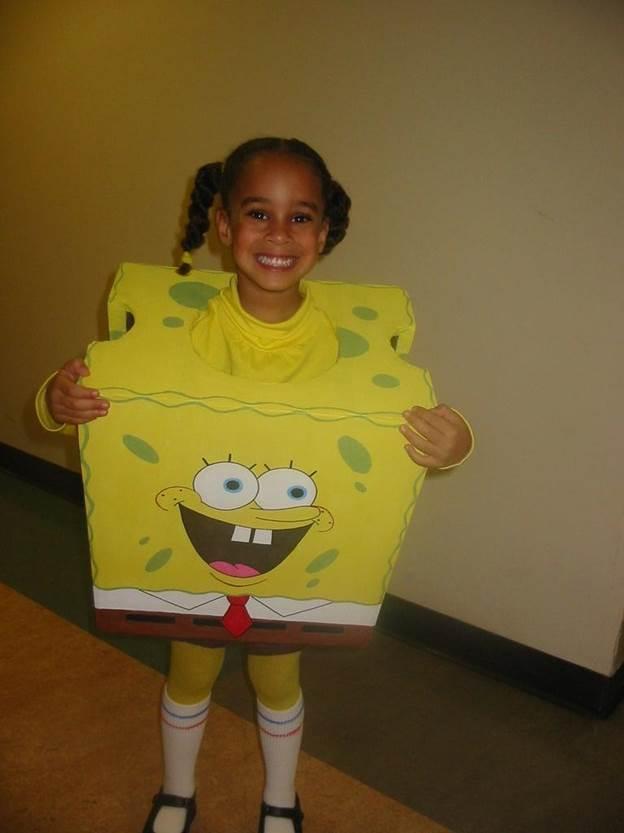 6. Spongebob Square Pants Costume For Kids
